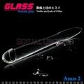 GLASS-冰清玉柱-玻璃水晶後庭冰火棒(Anus 2)