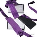 瑞典 LELO 絲綢系列 ETHEREA SILK CUFFS 緞帶編織手銬 (紫)