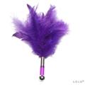 瑞典LELO-TANTRA FEATHER TEASER 羽毛挑逗棒-紫