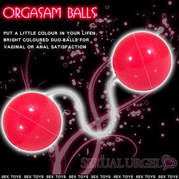 私處鍛煉器 動感聰明球球-紅