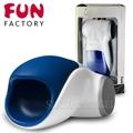 德國FUN FACTORY-眼鏡蛇柯波拉─男性電動自愛器-藍白(附贈CNC充電器)