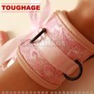 美國駭客Toughage-Chinese silk Wrist Cuffs 中國綢 手腕束帶-粉