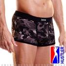 美國HUSTLER-性感模男平口內褲-迷彩黑(XL)