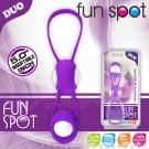 露露 矽膠材質訓練聰明球-可拆式清洗-紫