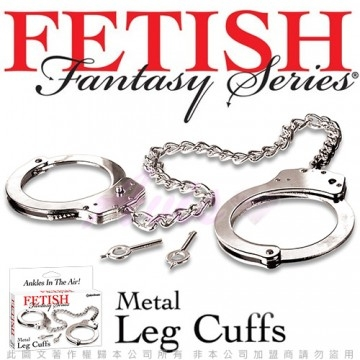 美國FETISH-Fantasy Metal Leg Cuffs 高級SM金屬腳銬