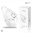 德國OVO-T2 小水滴 5段變頻 精品 震動按摩器-白色