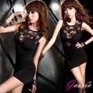 【Gaoria】野艷女模-蕾絲緊身包臀 夜店裝 連衣性感情趣睡衣