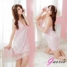 【Gaoria】柔美輕甜-誘惑露乳 柔緞性感情趣睡衣