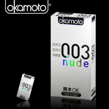岡本003-nude極薄保險套(6入裝)