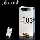 岡本003-PLATINUM 極薄保險套(6入裝)白金