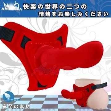APHRODISIA G點情人 穿戴逼真型按摩棒-紅(可拆下單獨使用)