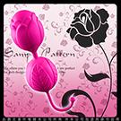 凡爾賽玫瑰 雙重玫瑰花造型 聰明球