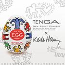 日本TENGAx美國Keith Haring 勁歌熱舞 DANCE 挺趣自慰蛋 Special Edition KHE-002