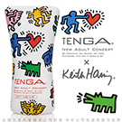 日本TENGA x 美國Keith Haring 柔情吸吮軟膠杯 Soft Tube Cup Special Edition KHC-102