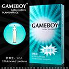 GAMEBOY勁小子衛生套 保險套 勁爆型 12片 藍