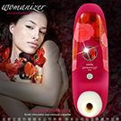 德國Womanizer豹美人深度還原真人吮吸觸感 陰蒂高潮神器 USB充電 紅 花愛