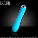 美國DORR FOXY WAVE 福柯 螺旋型 5段變頻 迷你震動按摩棒 海洋藍(磁吸式充電)