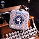 Durex杜蕾斯 x Porter 更薄型鐵盒限定版 3入 灰藍格紋