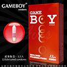 GAMEBOY 勁小子 衛生套保險套 超激點型 12入 紅