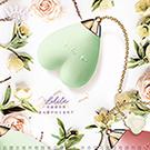 法國ZALO 洛麗塔系列 Baby heart 心有靈犀 調情按摩器 金屬表面18k金 蜜瓜綠