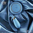 法國ZALO 凡爾賽系列 Fanfan set 情侶雙人共享按摩器 搖控版 金屬表面24k金 皇室藍