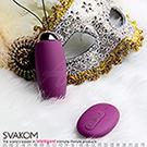 美國SVAKOM Elva 艾娃 靜音防水 無線遙控 充電跳蛋 紫羅蘭