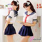 【Gaoria】水手服少女 性感制服 學生角色扮演服