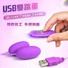 網愛族必備 USB 10段變頻 震動跳蛋 雙跳蛋 即插即用快感跳蛋
