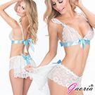 【Gaoria】絕美熱戀 情趣內衣 白色蕾絲 情趣睡衣