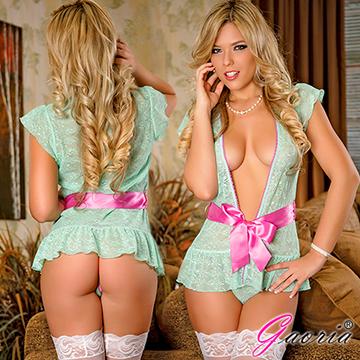 【Gaoria】天使吻痕 性感蕾絲情趣內衣 睡裙 情趣睡衣