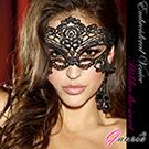 【Gaoria】 我性感嗎 高檔刺繡蕾絲眼罩 遊戲派對聚會面具