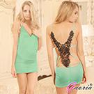 【Gaoria】派對女孩 露背V領 夜店服裝 緊身包臀 情趣服裝