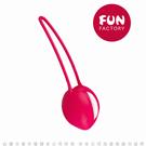 德國FUN FACTORY UNO 女性情趣凱格爾聰明球 單球 玫紅