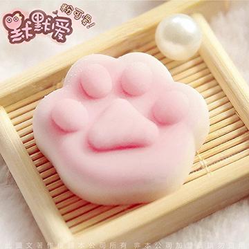 療癒舒壓捏捏樂 超萌 發洩玩具 軟膠團子 超萌小丁丁 01粉嫩貓咪肉球