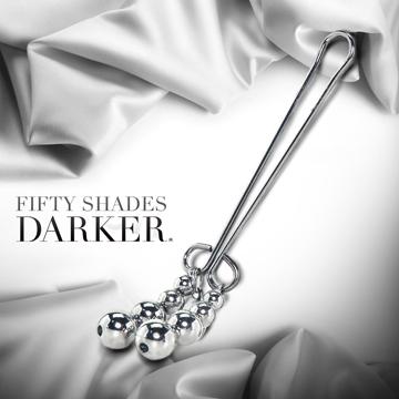 Fifty Shades Darker 格雷的五十道陰影2-束縛 串珠金屬陰蒂夾