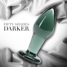 Fifty Shades Darker 格雷的五十道陰影2-束縛 暗黑玻璃後庭肛塞 FS-64502