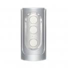 日本TENGA-壓力式異次元體位杯(銀色高附著力感)