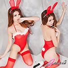 【Gaoria】愛戀兔女郎 性感網紗兔女郎裝 性感情趣睡衣