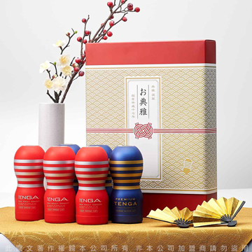 日本TENGA GIFT BOX CUP SET 你的恩典 新年禮盒杯套組(6入) TGB-001