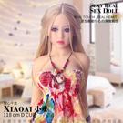 XIAOAI小愛 全實體矽膠不銹鋼變形骨骼娃娃 甜心千金 118cm