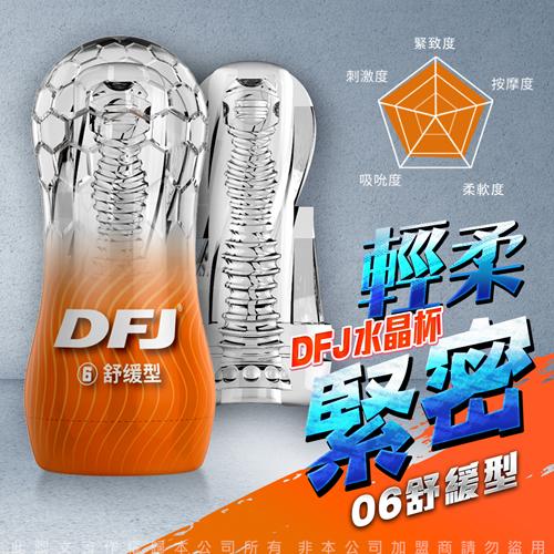 DFJ水晶杯 全包裹式吸吮立體通道自慰杯-舒緩型