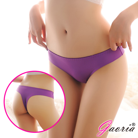 【Gaoria】極限女孩 無痕丁字褲 紫