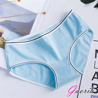 【Gaoria】純棉面料 簡約純色 三角褲 -淺藍