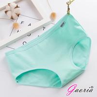 【Gaoria】純棉面料 糖果色棉質 三角褲-奶昔綠