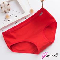 【Gaoria】純棉面料 糖果色棉質 三角褲-紅