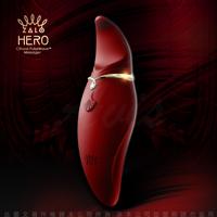 法國Zalo Hero英雄C點 撩動小舌震動器 醇酒紅