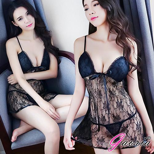 【Gaoria】床邊眷戀 浪漫蕾絲 性感情趣睡衣