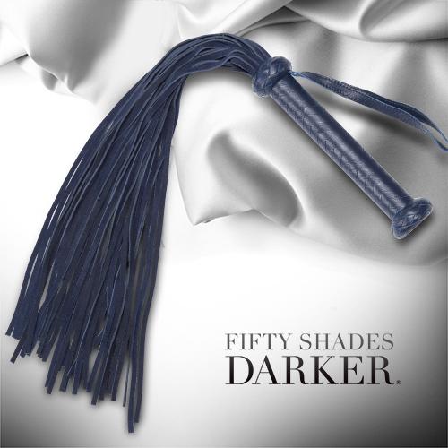 Fifty Shades Darker 格雷的五十道陰影2-束縛 你的陰暗面 麂皮手工編織 大型皮鞭