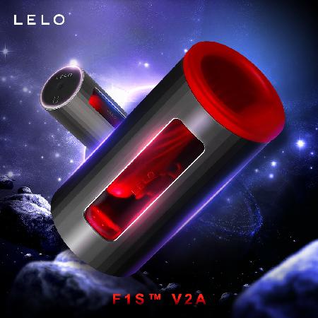 LELO F1S™ V2A 第二代智能飛機杯 紅色