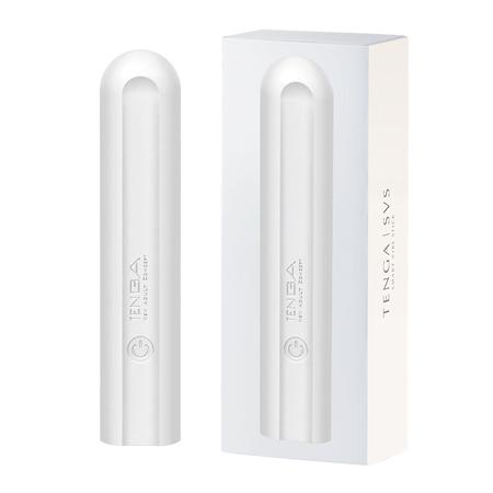 TENGA SVS 巧振棒 充電式強力振動器 珍珠白